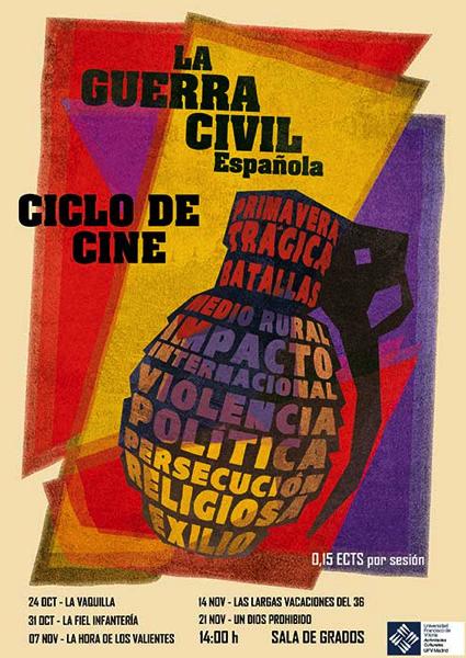 Captura de pantalla 2019 10 23 a las 10.15.48 Comienza el ciclo de cine previo al Congreso sobre la Guerra Civil española