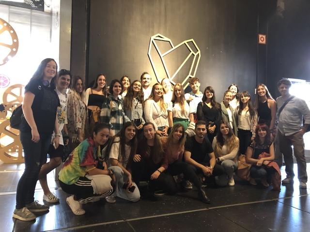 IMG 4007 Easy Resize.com  Dos alumnos del Grado en Diseño participan en la exposición Love Cartón 2019 Estudiar en Universidad Privada Madrid