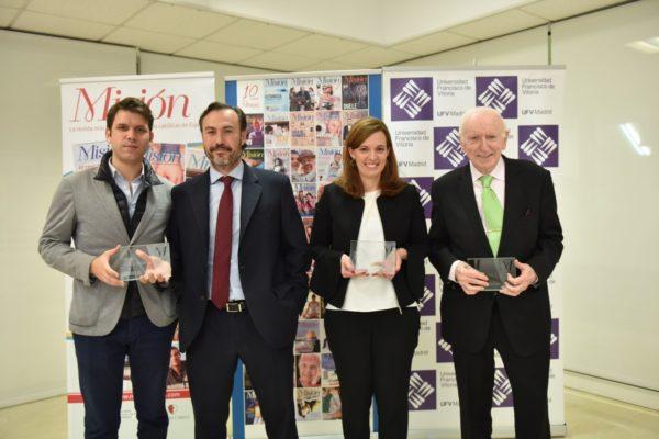 premiados 2 1 e1572344476931 La RevistaMisiónentrega en la UFV sus Premios 2019 a la Promoción y Defensa de la Familia Estudiar en Universidad Privada Madrid