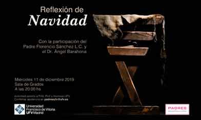 reflexion navidad 2019 Padres UFV