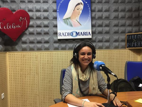 1811 21 Gema Sáez, profesora UFV, habla sobre el compromiso en Radio María Estudiar en Universidad Privada Madrid