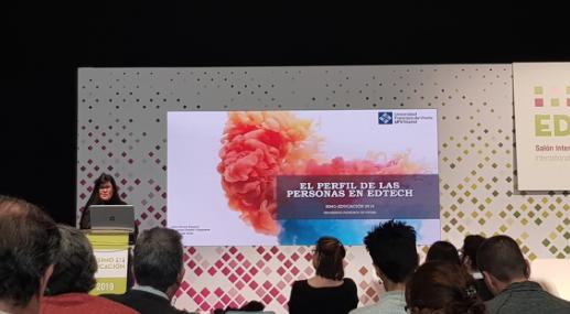 Captura de pantalla 2019 11 12 a las 11.28.26 Leire Nuere, Verónica Oviedo y Lola Vivas imparten una conferencia en el Salón de Tecnología para la Enseñanza