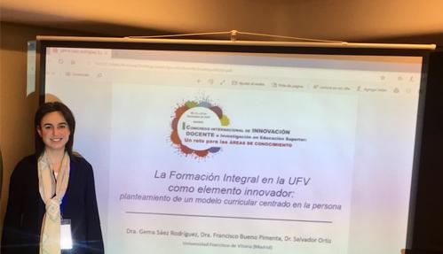 Captura de pantalla 2019 11 27 a las 14.35.06 1 La UFV participa en el I Congreso Internacional de Innovación Docente e Investigación en Educación Superior
