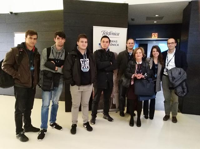 Foto JornadaDeCátedrasTelefónica 1 Easy Resize.com  La UFV participa en la Jornada de Cátedras de Teléfonica 2019 Estudiar en Universidad Privada Madrid