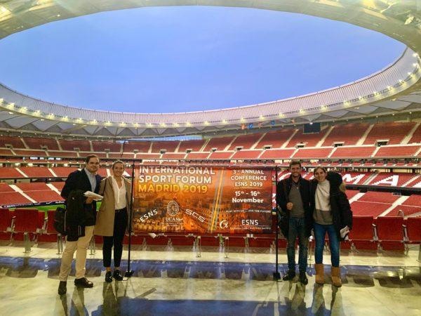 Fotos Congreso 3 e1574173715566 Esther Morencos, Álvaro López, Alejandro Muñoz y Patricia Varón participan en el International Sport Forum