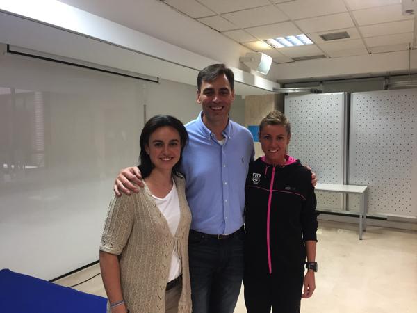 IMG 5847 José María Silva, ex jugador del Real Madrid Baloncesto, habla con los alumnos de CAFyD UFV sobre la detención del talento en el deporte