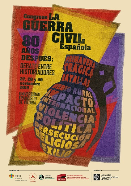 """congreso guerra civil La Universidad Francisco de Vitoria (Madrid) organiza el Congreso Internacional """"La Guerra Civil Española 80 años después: debate entre historiadores"""" Estudiar en Universidad Privada Madrid"""