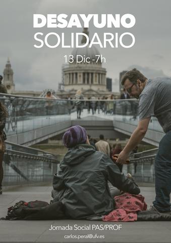 desayunopasprof4 1 1 Easy Resize.com  Desayuno solidario Jornada PAS/PROF: 13 de diciembre Estudiar en Universidad Privada Madrid