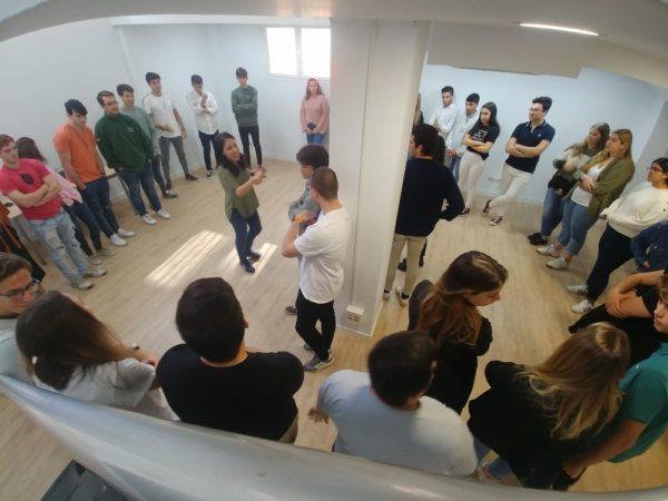 f354d68f 7936 4a28 80f9 1e49bd4f9d28 e1572946338422 Alumnos de Gastronomía y ADE visitan la Fundación Altius Estudiar en Universidad Privada Madrid