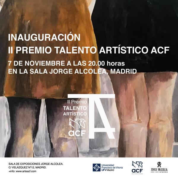 redes cartel El ganador del II Premio Talento Artístico ACF se decide este jueves