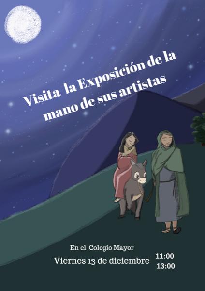 1612 Visita la exposición navideña del Colegio Mayor UFV Estudiar en Universidad Privada Madrid