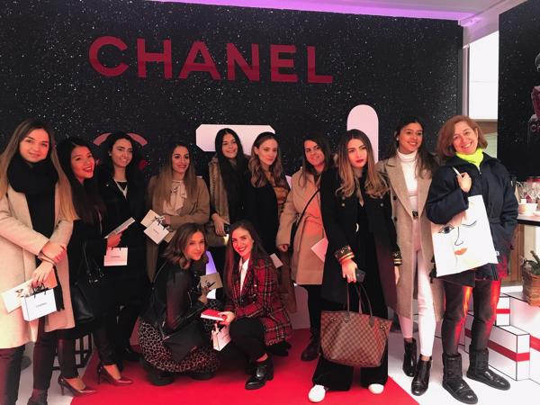 %name Alumnas del Máster en Comunicación y Marketing de Moda UFV visitan el Chanel Christmas Club