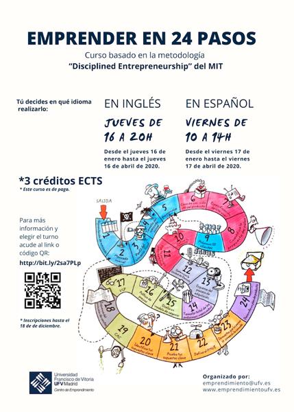 Captura de pantalla 2019 12 05 a las 11.42.08 Abierto el plazo de inscripción para la III Edición del Curso Emprender en 24 pasos Estudiar en Universidad Privada Madrid