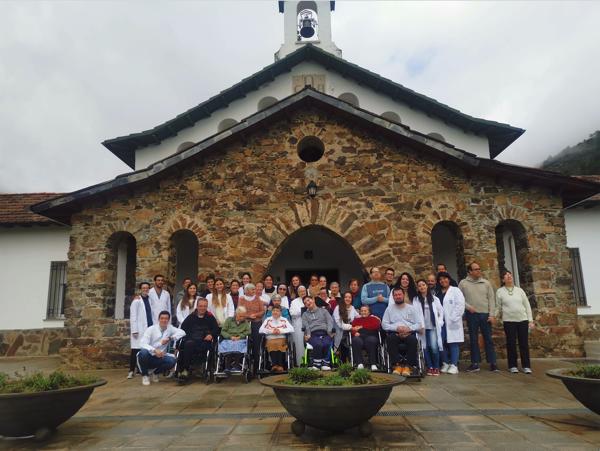 Captura de pantalla 2019 12 13 a las 9.51.12 Alumnos de Enfermería UFV visitan la casa de enfermos del Cottolengo en Cáceres