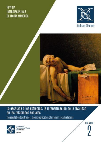 cubierta 2 lomo9 01 1 e1575388575765 Número 2 de Xiphias Gladius: Revista interdisciplinar de teoría mimética