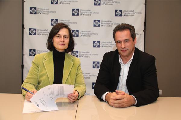 20 01 16 Belen Hermida 2 La UFV firma un convenio de colaboración con el Colegio Oficial de Arquitectos de Madrid
