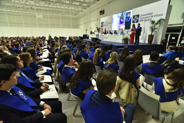 200124UFV 0630 Más de 160 alumnos se gradúan en los Grados UFV en Biomedicina, Biotecnología y Farmacia