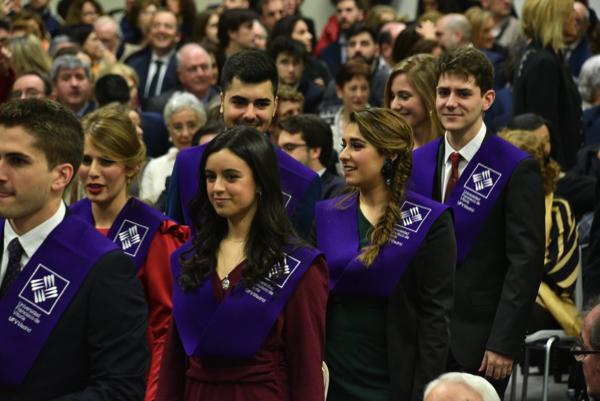 200124UFV 0738 Más de 160 alumnos se gradúan en los Grados UFV en Biomedicina, Biotecnología y Farmacia