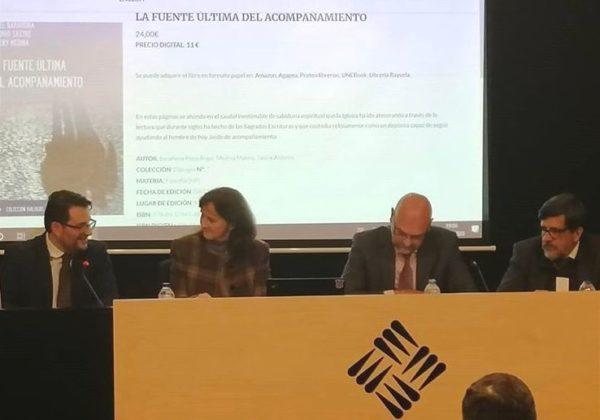 %name Ángel Barahona, Antonio Sastre y Maleny Medina presentan La fuente última del acompañamiento