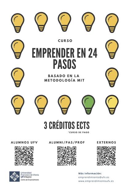 Cartel MIT Español III Easy Resize.com  Últimas plazas disponibles para el curso Emprender en 24 pasos, basado en la metodología del MIT
