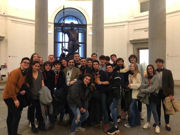 %name Los alumnos de 1ºADE UFV visitan el Museo del Prado para conocer el liderazgo a través de sus obras Estudiar en Universidad Privada Madrid