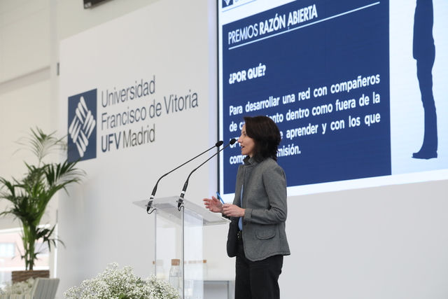 IMG 0693 Easy Resize.com  La UFV celebra la XVII Jornada de Santo Tomás reflexionando sobre Las esencias de la UFV Estudiar en Universidad Privada Madrid
