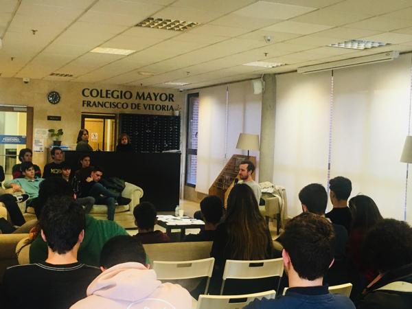 IMG 6347 Nacho Vidri, fundador y CEO de Pompeii, comparte en la UFV su historia de emprendimiento Estudiar en Universidad Privada Madrid