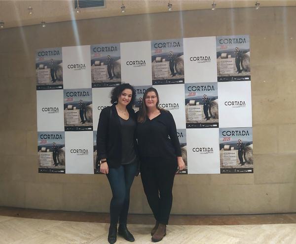 Patricia Beleña y Arancha Piedra El cortometraje Escúchame, de Patricia Beleña, premiado en el Festival de Vitoria Gasteiz