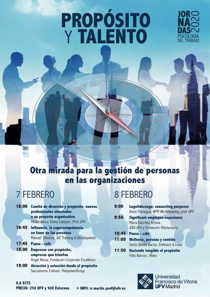 Programa Jornadas Propósito y Talento 2020 1.jpg1  1 Jornadas Psicología del trabajo 2020 sobre el propósito y el talento en la gestión de personas Estudiar en Universidad Privada Madrid