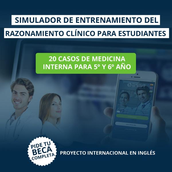 TWINS La UFV implementa el simulador Practicum Script, un programa de entrenamiento del razonamiento clínico para estudiantes de Medicina Estudiar en Universidad Privada Madrid