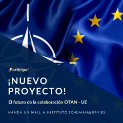 CFCD5A0C 5384 4AA3 AE9E 8C68BD352053 El Instituto Robert Schumann UFV de Estudios Europeos busca a alumnos para un proyecto en colaboración con la OTAN