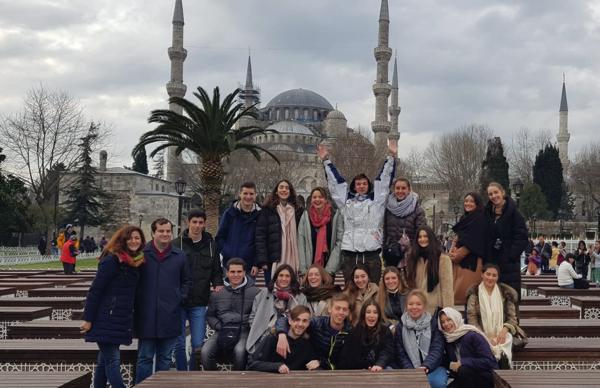 Captura de pantalla 2020 02 06 a las 10.17.33 Alumnos de 1º del Grado en Relaciones Internacionales viajan a Estambul en su viaje de estudios anual