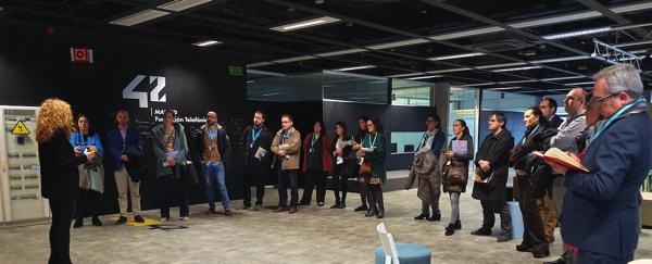 Captura de pantalla 2020 02 10 a las 9.28.40 La UFV visita Campus 42, la escuela de programación gratuita e innovadora de Telefónica en Madrid