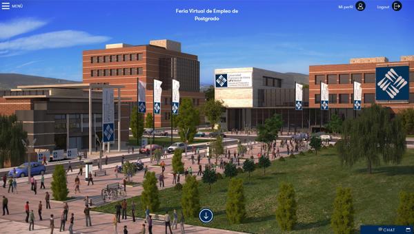 Captura de pantalla 2020 02 19 a las 16.46.16 I Edición de la Feria Virtual de Empleo de la Escuela de Postgrado y Formación Permanente UFV