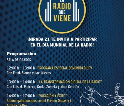 Cartel Día Mundial de la Radio 1 417x357 actualidad UFV
