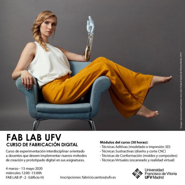 FABLAB ufv e1582799758270 La Escuela Politécnica UFV organiza un curso de fabricación digital para docentes de todas las áreas