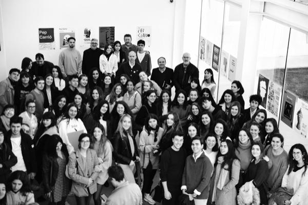 Pablo Urcelay Pep Carrió 10 Doce antiguos alumnos de Diseño representan a la Universidad Francisco de Vitoria (Madrid) en el Madrid Design Festival 2020 Estudiar en Universidad Privada Madrid