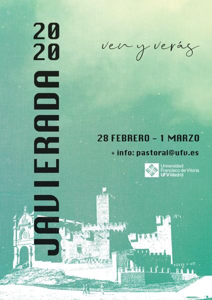 image001 Pastoral UFV organiza el fin de semana del 28, 29 de febrero y 1 de marzo la Javierada 2020, bajo el lema Ven y verás