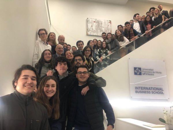inmersion week ufv la haya e1581437777307 La UFV acoge la Immersion Week 2020 con alumnos de La Haya