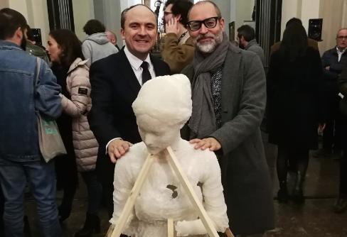 """javier viver pablo lopez raso ufv La UFV colabora con el artista Javier Viver en la exposición """"Museo de Pasiones"""""""