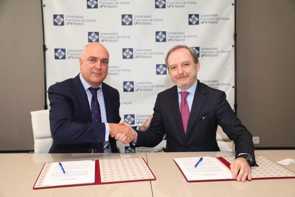 %name La Escuela de Postgrado y Formación Permanente firma un acuerdo de colaboración con NET PHARMA