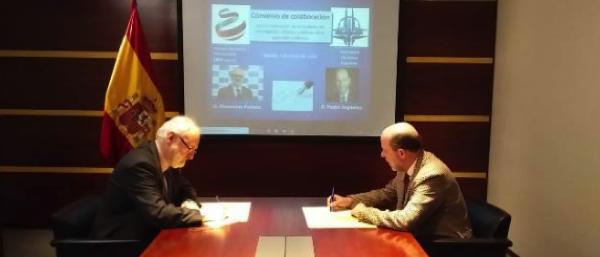 Captura de pantalla 2020 03 09 a las 11.05.13 El Instituto de Política Internacional UFV y la Asociación Atlántica Española firman un convenio de colaboración para fomentar la cultura de defensa Estudiar en Universidad Privada Madrid