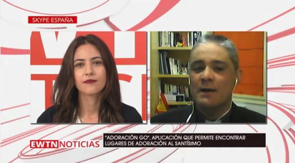 Captura de pantalla 2020 03 10 a las 13.14.12 Ricardo Latorre presenta Adoración Go una aplicación para encontrar dónde se encuentra expuesto el Santísimo Estudiar en Universidad Privada Madrid