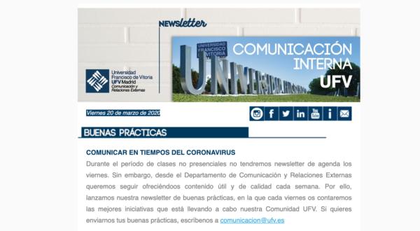 Captura de pantalla 2020 03 20 a las 12.21.41 e1584704053261 ¿Quieres recibir nuestra newsletter de buenas prácticas? Estudiar en Universidad Privada Madrid