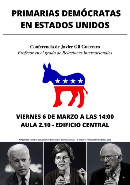 Primarias EEUU El Grado de Relaciones Internacionales UFV organiza Primarias Demócratas en los Estados Unidos para analizar los resultados del supermartes Estudiar en Universidad Privada Madrid