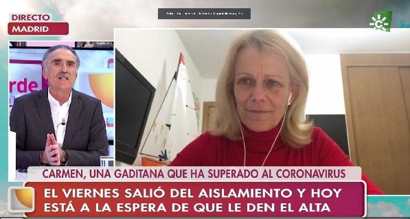 carmen peman 2 Carmen Pemán, asistente de Dirección de Relaciones Institucionales, cuenta su recuperación tras el aislamiento y da un mensaje de esperanza y agradecimiento a todos los que la han acompañado estos días Estudiar en Universidad Privada Madrid