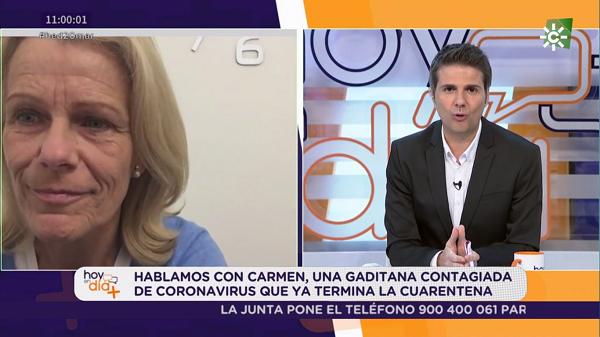 carmen peman coronavirus Carmen Pemán, asistente de Dirección de Relaciones Institucionales, cuenta su recuperación tras el aislamiento y da un mensaje de esperanza y agradecimiento a todos los que la han acompañado estos días Estudiar en Universidad Privada Madrid