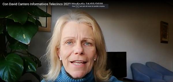 carmen peman2 Carmen Pemán, asistente de Dirección de Relaciones Institucionales, cuenta su recuperación tras el aislamiento y da un mensaje de esperanza y agradecimiento a todos los que la han acompañado estos días Estudiar en Universidad Privada Madrid