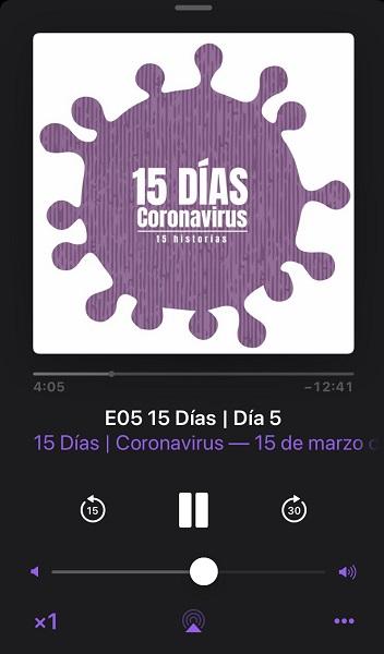 %name Alfredo Arense, alumni y profesor UFV, cuenta las historias personales de afectados por el COVID 19 en el podcast 15 días. Coronavirus