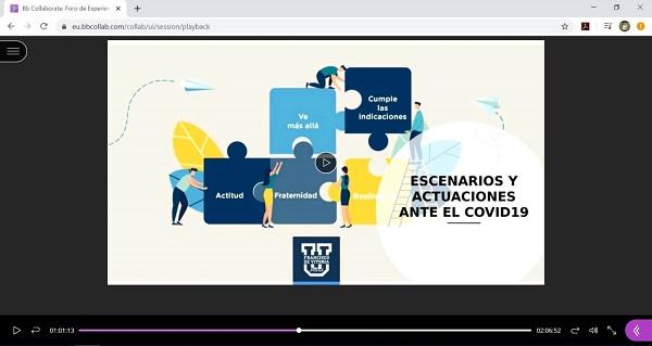 jornada CRUE online docencia Resumen de la Jornada Online del Foro de Experiencias ante la Suspensión de la Actividad Docente Presencial en Universidades Españolas por el COVID 19